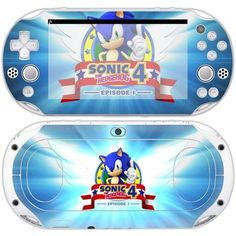 Sonic 4 the Hedgehog skin decal for PSP vita 2000 console