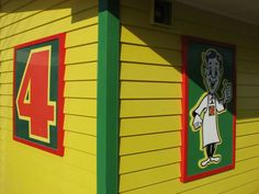 4 Four Square Store Kiwiana, Beach Fun, Auckland, Bold Colors, Four Square, New Zealand, Homes, Colour, Country