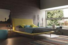 simple modern bedroom with a view fair light bolzan