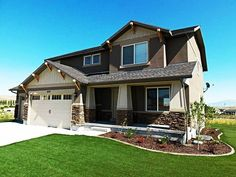 Home Builders In Alberta - Project #5288 completion from late summer 2014. Don't you just love how nice and green new Sod is, and, no dandelions! Can't wait for it to dry up and be summer again. Agree? Give this stylish new Longview AB Custom Home your rating on a scale of 1 through 10.  Like, Comment or Share with others too please... :-) http://urbaneresidentialgroup.com/divisions/custom-homes/home-builders-in-alberta/