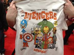 Marvel Exclusive Shirts From The New York Comic Con