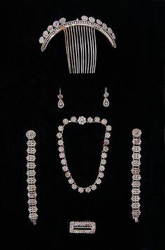 Jewelry set - first quarter 19th century