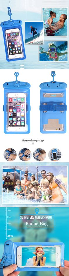 US$8.55 Waterproof 6 inch Arm Phone Bag For Iphone/ Samsung/ Xiaomi/ Huawei/ HTC