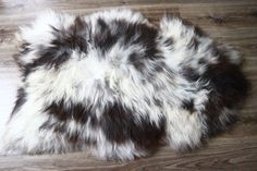 Wow Large Genuine Natural rare unique by naturalsheepskin on Etsy