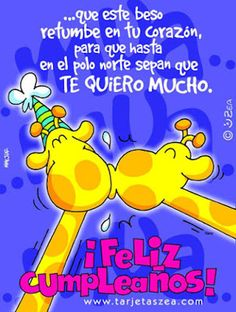 Tarjetas de Cumpleaños: Tarjetas de cumpleaños para mi Amor Happy Birthday Wishes For Her, Happy Birthday Celebration, Happy Birthday Cards, Birthday Greetings, Happy B Day Images, Happy Day, Positive Messages, Birthday Quotes, Holiday Parties