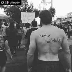#Repost @olliegrey ・・・ Legalize sex work! #slutwalk#Tucson#sexworkersrightsarehumanrights