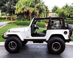 1997 Jeep Wrangler, Jeep Cj7, Jeep Rubicon, Jeep Wrangler Unlimited, Jeep Jeep, White Jeep, Jeep Photos, Jeep Wrangler Accessories, Jeep Mods