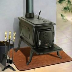 Cast Iron Wood camping stoves. Perfect for an outfitter tent or small cabin