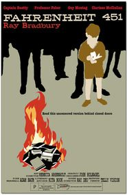 Fahrenheit 451 Literary Movie Poster
