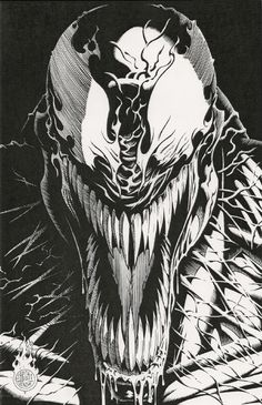 Venom by Jerry Beck Comic Art