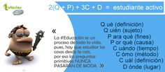 Fórmula del estudiante activo