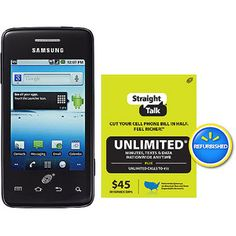 samsung straight talk phones at walmart | Straight Talk Samsung Galaxy Precedent Plus $45 Unlimited Card ...