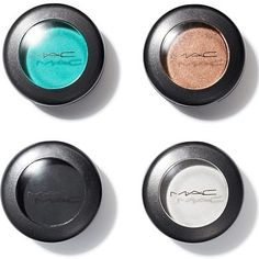 """MAC Eyeshadow, £12.50, MAC """"These eyeshadows are full of pigment, so what you see exactly in the powder is what you're going to get on the eye,"""" says make-up artist Louise Constad, who's worked with Sophie Ellis-Bexter and Pink. For vibrant colour, """"always apply them with a brush, never use your finger, as it leaves a film over the powder shadow""""."""