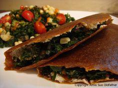 No flax corn wraps Raw Vegan Recipes, Veggie Recipes, Vegan Vegetarian, Healthy Recipes, Raw Wraps, Vegan Wraps, Clean Eating, Healthy Eating, Healthy Life