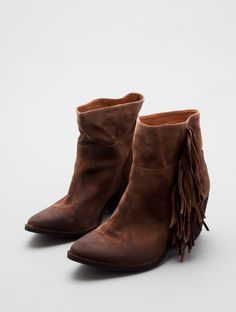 ROSWELL-FR by Jeffrey Campbell - Love the fringe!