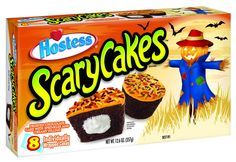 Hostess ScaryCakes are perfect for Halloween parties.