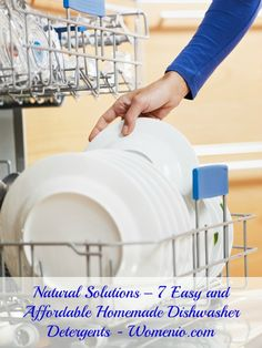 7 Easy and Affordable Homemade Dishwasher Detergents