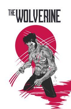 THE WOLVERINE by Alex Arizmendi, via Behance