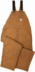 Carhartt ® FRR44 Flame Resistant Bib Overalls Quilt-lined -