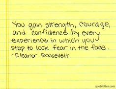 Eleanor Roosevelt is a boss.