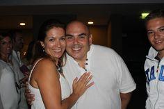 Con Benito la noche ibicenca en Portugal,  que bien lo pasamos.