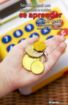 Familia.com.br   Como ensinar seus filhos sobre seu patrimônio. #Educacaofinanceira