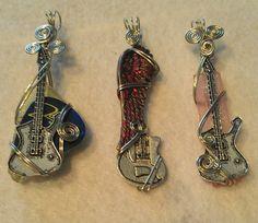 Guitar pendants