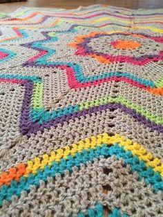 19eaea413 Ravelry  odoursea s Jayda in stitches starburst Crochet Square Blanket