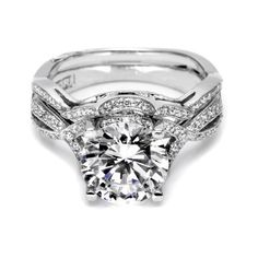 Tacori engagement ring & wedding band ♥