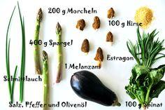 Chill mal deine Leber, grünes Gemüse, Hirseschnitten