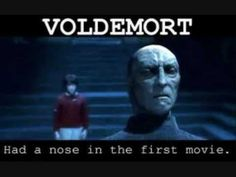 Harry, Quirrel& Voldemort in Harry Potter and Philosopher's stone