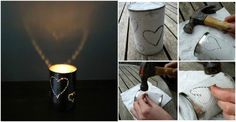 DIY Lanterns With Recycled Tin Cans | DIY Tag