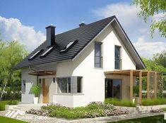 Proiecte de case cu mansarda sub 120 de metri patrati - Case practice
