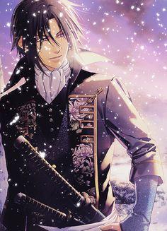 Beautiful Hijikata Toshizo in winter Manga Boy, Manga Anime, Anime Art, Garçon Anime Hot, Anime Love, Itachi, Otaku, Samurai Anime, Familia Anime