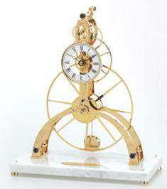 john wilding skeleton clock - Google Search
