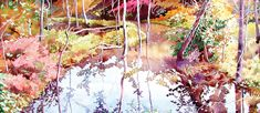 5 watercolor artists' unique approaches to painting water