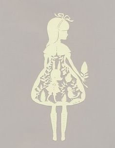 #silhouette #papercut #victorian to see more papercuts check out silhouette…