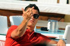 F*ck you haters Cristiano Ronaldo 7, Ronaldo Cristiano Cr7, Cristiano Ronaldo Wallpapers, Real Madrid, Baby Hospital Pictures, Cr7 Junior, Soccer Baby, Ronaldo Football, Hommes Sexy