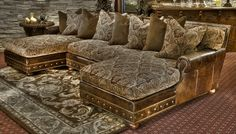 Our Paisley Pastures sofa will provide you and your family comfort for years to come. Vist our site to find out more. | www.brumbaughs.com | Fort Worth, TX