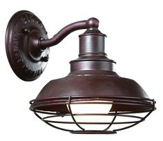 The 'Circa 1910' light fixture by Troy Lighting. It provides just enough light for making out in the carriage house.