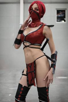 Mortal Kombat Cosplay, Halloween Cosplay, Cosplay Girls, Deadpool, Russia, Costumes, Superhero, Country, Sexy