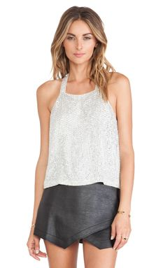 Shop for Parker Justina Sequin Tank in Silver at REVOLVE. Free 2-3 day shipping and returns, 30 day price match guarantee.