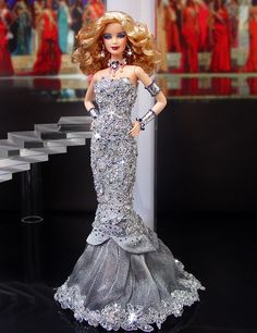Barbie Miss Massachusetts Ninimomo Barbie Gowns, Pageant Gowns, Barbie Clothes, Fashion Royalty Dolls, Fashion Dolls, Manequin, Barbie Miss, Beautiful Barbie Dolls, Barbie Collection