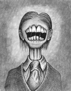 Creepy Sketches, Scary Drawings, Badass Drawings, Trippy Drawings, Psychedelic Drawings, Dark Art Drawings, Pencil Art Drawings, Art Sketches, Arte Horror
