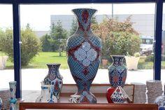 Hediyelik Vazolar   Altın Çini