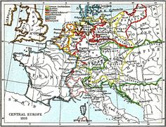 Central Europe 1815 (1903), by John Bagnell Bury (1861-1927).