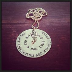 Pretty little things Hand Stamped Jewelry on Etsy