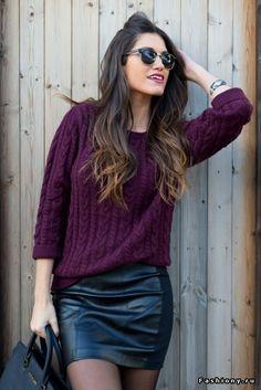 Модный свитер / модный джемпер фото