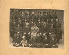 A photo of a school class. Signed: 'P.Kontos, Athens'. Athens, Greece, twentieth century. Courtesy Peloponnesian Folklore Foundation, all rights reserved.