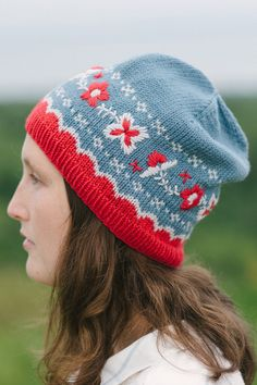 berit hat knitting pattern - Quince and Co